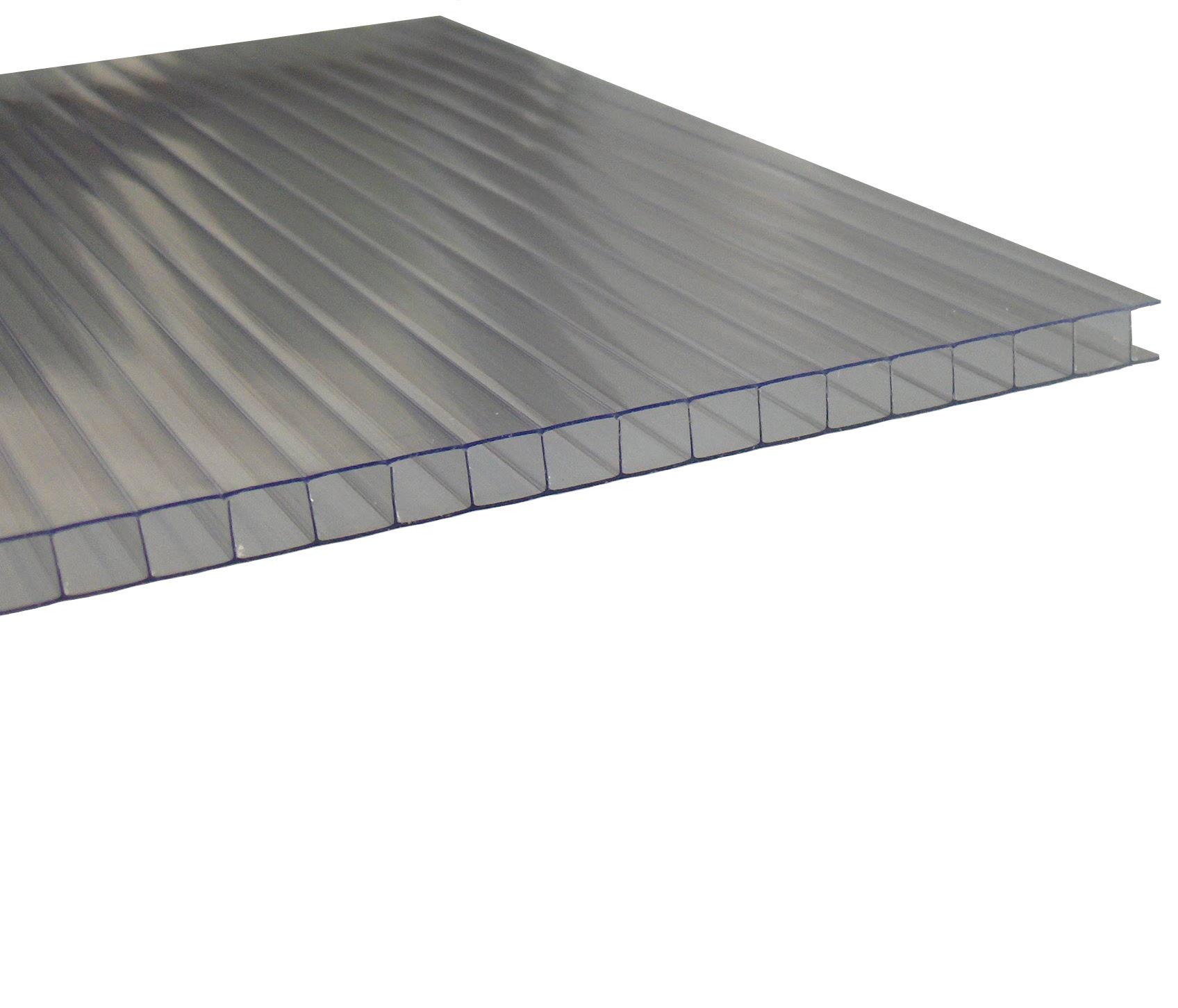 Stegplatten 10mm farblos