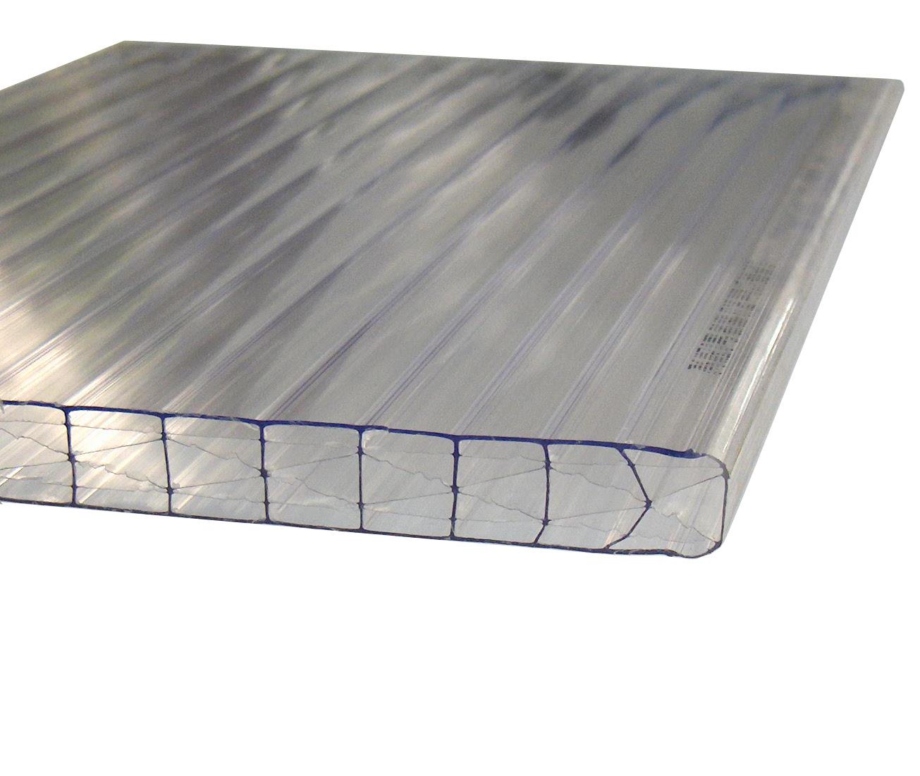 Stegplatten 16-X farblos