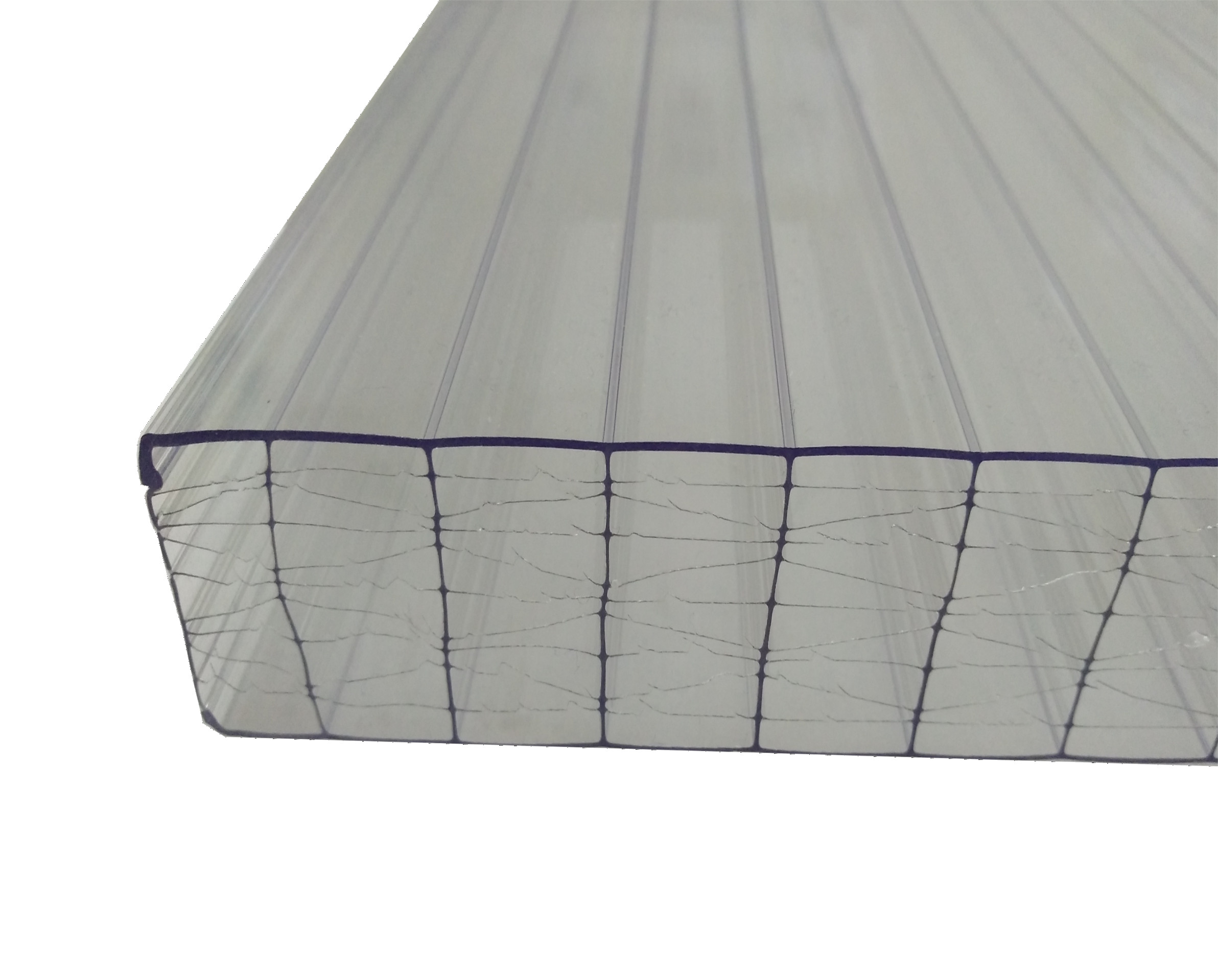 Stegplatten 32-X farblos