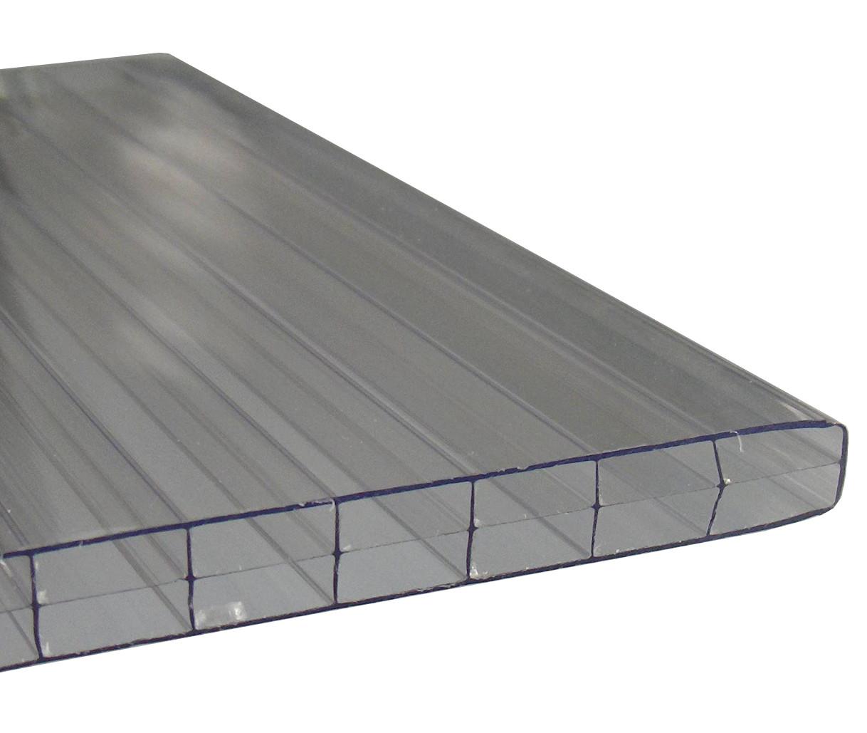Stegplatten 16-3 farblos
