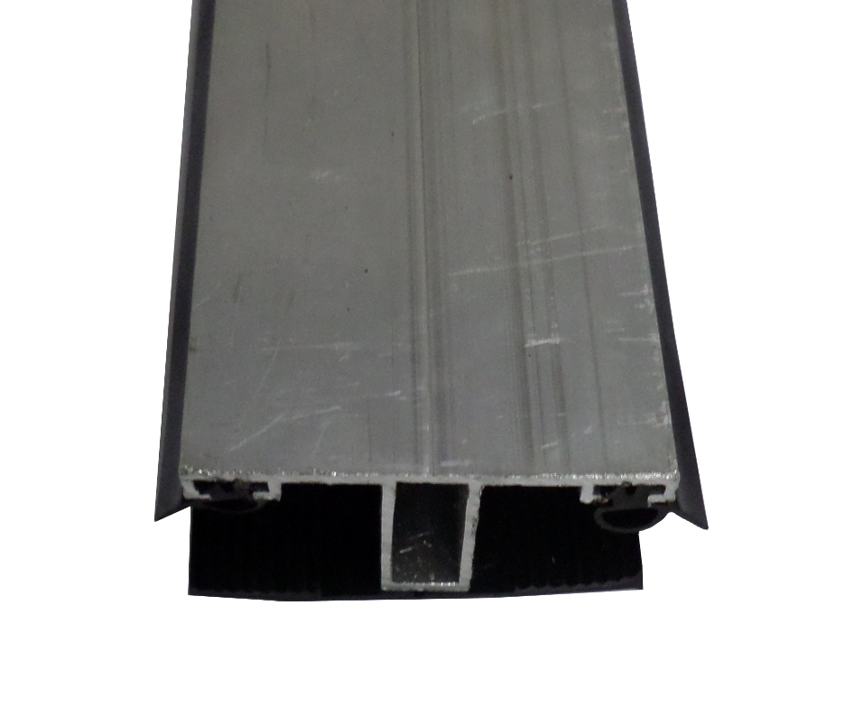 Mittelprofil 60mm ALU / Gummi