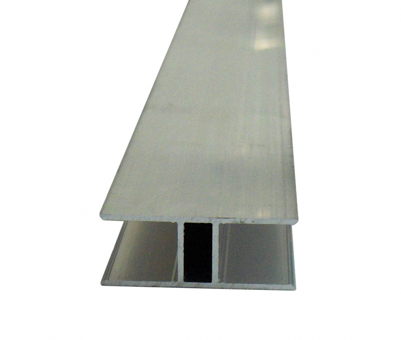 H-Profil 16mm für Stegplatten 16mm L: 6000mm