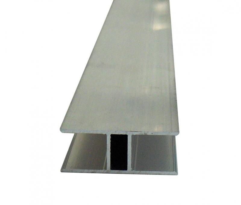 H-Profil 16mm für Stegplatten 16mm L: 1000mm