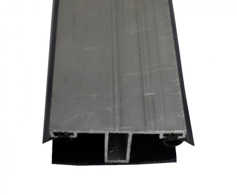 Mittelprofil 60mm ALU / Gummi L: 1.0m