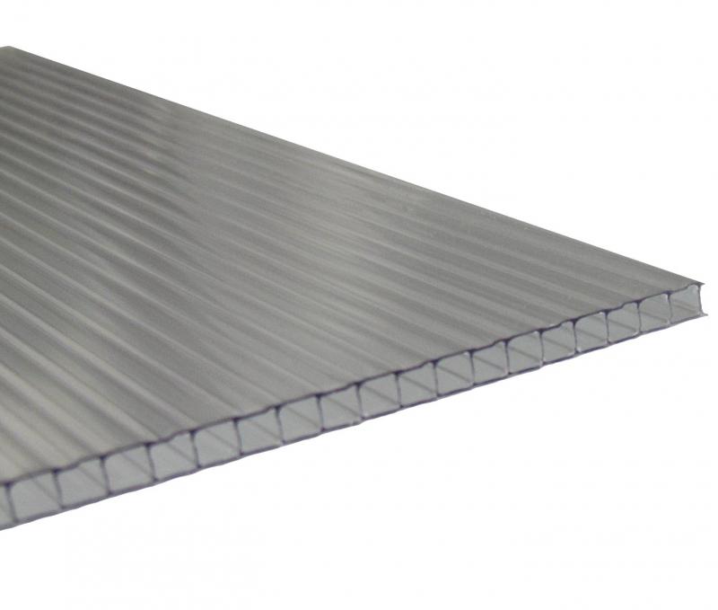 1 lfm Gewächshausplatte 4mm B: 700-890mm für Zuschnitte bis 1.4m Länge