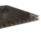 Stegplatten 16mm 16-X bronze UV 0.98x1.0m