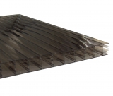 Stegplatten 16mm 16-X bronze UV 0.98x4.0m