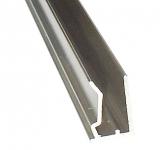 Abschlussprofil 6mm L: 2500mm für Stegplatten 6mm