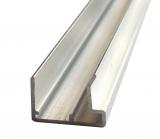 Abschlussprofil 16mm Traufe L: 2500mm für Stegplatten 16mm