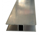 H-Profil 10mm für Stegplatten 10mm L: 3500mm