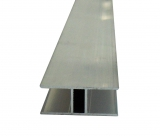 H-Profil 16mm für Stegplatten 16mm L: 4500mm