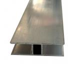H-Profil 10mm für Stegplatten 10mm L: 1400mm