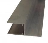h-Profil 10mm (kleines H) für Stegplatten 10mm L: 1400mm