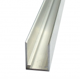U-Profil 16mm für Stegplatten 16mm L: 1400mm