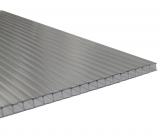 1 lfm Gewächshausplatte  6mm B: 525-695mm für Zuschnitte bis 1.4m Länge