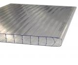 1 lfm Gewächshausplatte 16mm B: 525-695mm für Zuschnitte bis 1.4m Länge