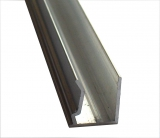 Abschlussprofil 10mm L: 2100mm für Stegplatten 10mm