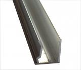 Abschlussprofil 10mm L: 5000mm für Stegplatten 10mm