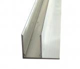 F-Profil 10mm für Stegplatten 10mm L: 6000mm