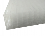 Stegplatten 32mm 1.25x7m X-Struktur opal UV